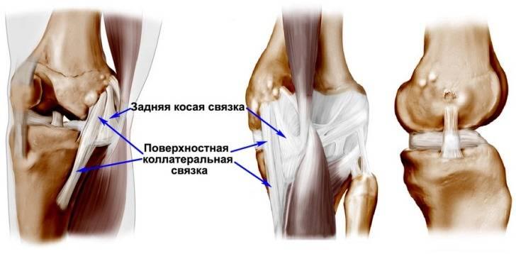 Разрыв связки коленного сустава операции болит коленный сустав правой ноги