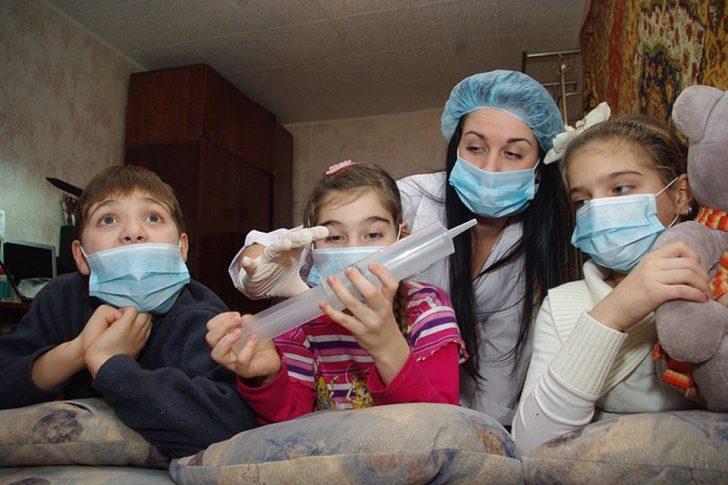 При аллергии не болеют гриппом