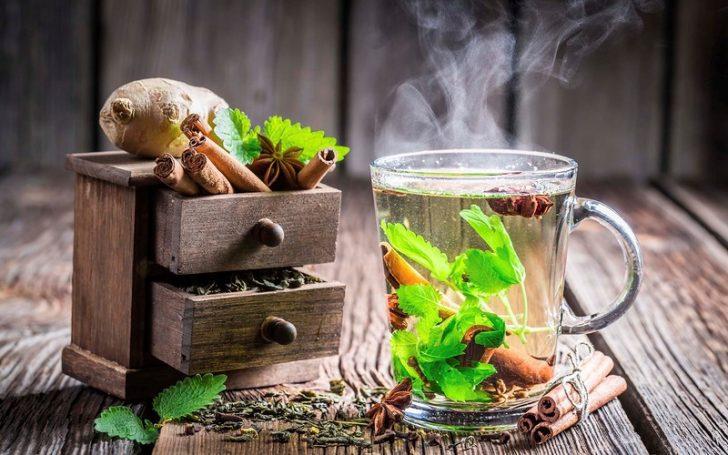 Монастырский чай при грибке ногтей