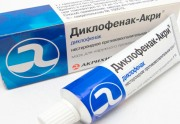 Мазь Диклофенак: инструкция по применению