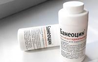 Банеоцин мазь и порошок: инструкция по применению